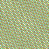 геометрический цветочный образец — Cтоковый вектор