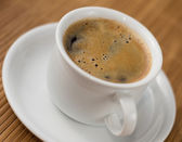 Cup with coffee — Stock Photo