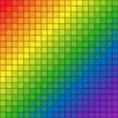 Rainbow tile background — Stock Vector