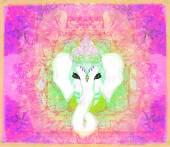 Ilustración creativa de dios hindú ganesha — Foto de Stock