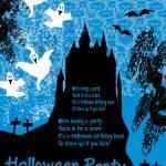 Halloween night background - haunted house  — Stock Vector #53748981