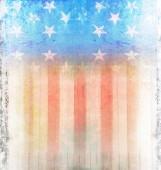 Dark Grunge US Flag — Stock Photo