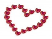 Heart from hearts — Stock Photo