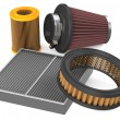 Set of air filter for car — Stock Photo #69434219