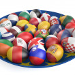 Easter eggs with the flags of the countries of the European Unio — Stock Photo #69557051