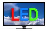 LED TV set — Stock Photo
