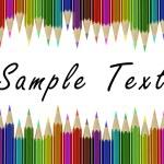 Assortment of coloured pencils — Stock Photo #81480324