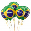 Brazil patriotic balloons,  holyday concept — Stock Photo #82783482