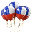 Chile patriotic balloons holyday concept — Stock Photo #82794466