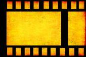 Grunge film strip frame — Stock Photo