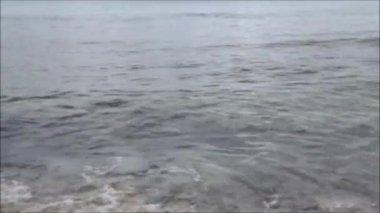 Waves in ocean — Stock Video