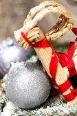 クリスマスつまらないもの — ストック写真