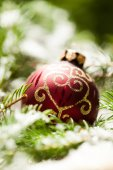 Colourful bauble — Stock Photo