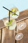 Soda ice summer drink — Stock Photo