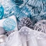 Stylish Christmas table setting — Stock Photo #55953739