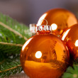 Shiny bright  Christmas balls — Stock Photo #59406325