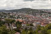 Rooftop view of Stuttgart, Germany — Stock Photo