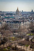 View of rooftops of Paris — Stock Photo