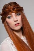 Pretty female model — Stock Photo