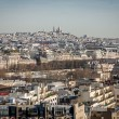 View over the rooftops of Paris — Stock Photo #61433111