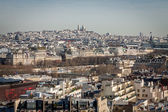 View over the rooftops of Paris — Stock Photo