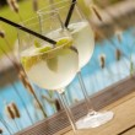 Hugo ice summer drinks — Stock Photo #64581053