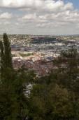 Scenic rooftop view of Stuttgart, Germany — Stock Photo