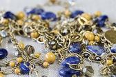 Αλυσίδα κολιέ χρυσά κοσμήματα — Φωτογραφία Αρχείου