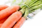 Tied carrots — Photo