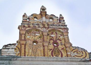 Castle wall detail