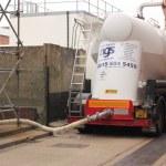 A bulk salt delivery — Stock Photo #53070275