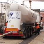 A bulk salt delivery — Stock Photo #53070283