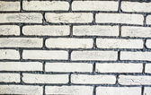 Conception de mur de brique comme texture de fond de mortier — Photo