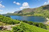 UK tourist destination Buttermere Lake District Cumbria England uk — Stock Photo