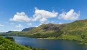 Buttermere Lake District Cumbria England uk on a beautiful sunny summer day — Stock Photo