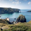 The Lizard Peninsula Mullion Cove Cornwall UK near Helston within the Cornwall Area of Outstanding Natural Beauty — Stock Photo #54340331