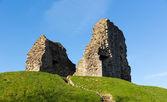 Christchurch castle ruins Dorset England UK of Norman origin and originally motte and bailey construction — Stock Photo