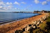 Poole harbour e cais Dorset England Uk — Fotografia Stock