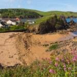 Outer beach Hope Cove South Devon England UK near Kingsbridge and Thurlestone — Stock Photo #76216811
