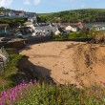 Beach at Hope Cove South Devon England UK near Kingsbridge and Thurlstone — Stock Photo #76217971