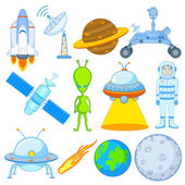 Science and Space icon — Stock Vector