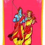 Lord Rama and Sita — Stock Vector #53014897