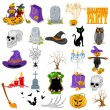 Halloween icon set — Stock Vector #54600327