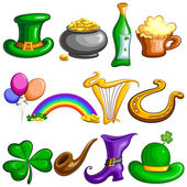 Saint Patricks Day symbol — Stock Vector