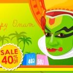 Happy Onam Big Sale — Stock Vector #80355812