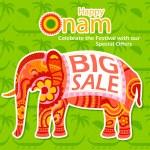 Happy Onam Big Sale — Stock Vector #80355842