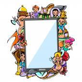 Happy Ganesh Chaturthi Mega Sale on mobile application — Stock Vector