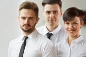 Business people in formal wear — Stock Photo