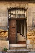 Old door in Aix en Provence, France — Stock Photo