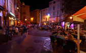 Aix en Provence by night — Stock Photo